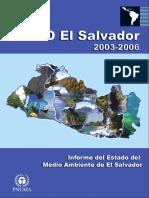 Informe Nacional Del Estado de Medio Ambiente GEO