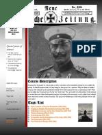 Modern Germany -- HIST 335 F18