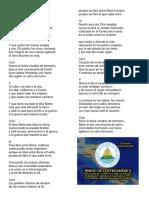 Himno a Centroamerica