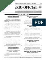 DIARIO OFICIAL - REPUBLICA DE EL SALVADOR TOMO N°366