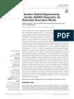 ADHD) Diagnosis an Activation-Executive Model