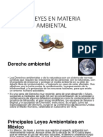 1.4 Leyes en Materia Ambiental