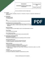 Procedimiento Escrito de Tareas (PET)