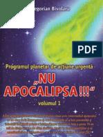 Gregorian Bivolaru - NU Apocalipsa volumul 1 [propaganda MISA]