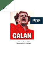 Cartel de Carlos Galán