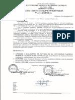 Reglamento de Estudios de La UNHEVAL 2018