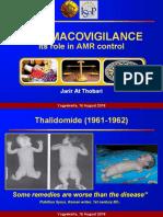 Jarir at Thobari Pharmacovigilance Role in Antimicrobial Resistance
