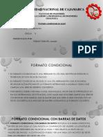 FORMATO CONDICIONAL