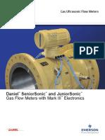 Product Data Sheet Seniorsonic Juniorsonic Gas Meters Mark III Electronics en 43884