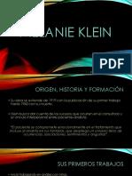 Presentacion Melanie Klein