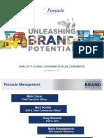 PF Pinnacle foods 2017 Barclay Final