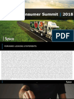 SYY Sysco 2018 Jefferies Presentation