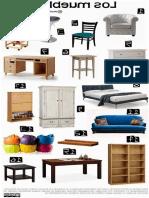 Muebles de Impresionante Vocabulario Muebles Casa Fichas Espac291ol Pinterest of Muebles De