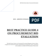 4 GUIDE Procurement Bid Evaluation En