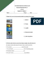 Laboratorio Ingles 3 Modulo 1