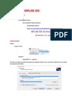 1 Descargar y Compilar Con Mplab IDE 7.3 ASM30 Incluido Con La Instalacion (Crt0.s y Crt1.s Necesarios)