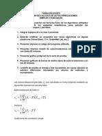 Tarea de Calculo de Autocorrelaciones Simples y Parciales 2018