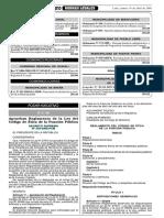 Ds-033-19.04.2005-Pcm Reglamento Del Codigo de Etica