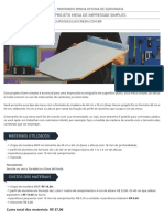 01 Projeto Mesa de Impressao Simples Curso de Silk Screen