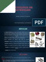 un Metal un Cerámico y un Polímero