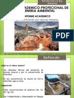 Contaminaciu00d3n Por Relaves Mineros Ppt