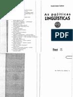 As políticas linguísticas - Calvet