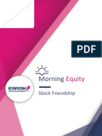 Kiwoom Trading Plan  10 September 2018