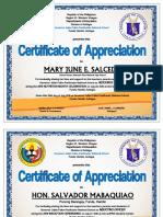 Certificate of Appreciation Nutrition 2016 Fin