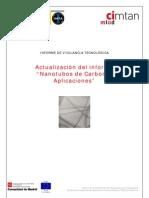 Informe actualización Nanotubos de Carbono