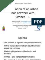 Omnet++Transantiago