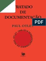 Paul Otlet Tratado de Documentação