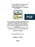 EFECTO DE ENMIENDAS ORGÁNICAS CERTIFICADAS DE USO COMERCIAL EN EL RENDIMIENTO DE PAPA INDUSTRIAL (Solanum tuberosum) VARIEDAD CAPIRO EN CONDICIONES EDAFOCLIMÁTICAS DE LA LIBERTAD-CONCHAMARCA-AMBO-HUÁNUCO - 2015 TESIS