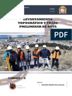 Informe N° 3 - Levatamiento Topografico Final