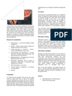 Fiber Optic Colonoscopy Dna, Gastric Analysis, Manometry