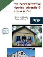 Monumente reprezentative pentru biserica adventistă de ziua a 7-a.pptx