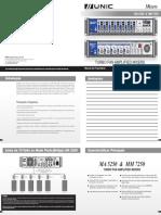 Manual Mixers Amplificados
