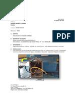 Informe - 018 - División Mineria y Cemento - Risol - Inspección de Bomba Goulds Multietapas.