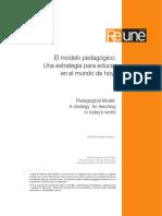 El modelo pedagógico una estrategia educativa para el mundo de hoy.pdf