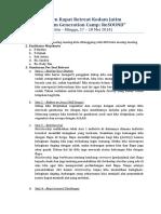 Notulen Rapat Retreat Kodam Jatim.doc