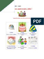 FLE - Joyex Anniversaire, Julie