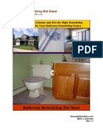 Bathroom Remodeling Bid Sheet Preview Rev1.1