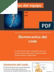 Biomecánica de Codo, Muñeca y Mano