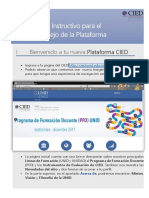 Instructivo Nueva Plataforma CIED FINAL