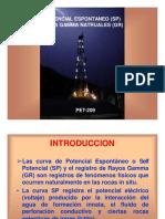 Registros Radioactivos y Potenciales Electrico