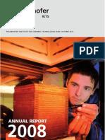 00 Fraunhofer IKTS 2008 Annual Report Tcm205-149699