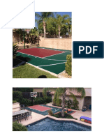 Contoh Lapangan Basket