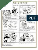 Picture Description the Picnic Oneonone Activities Picture Description Exercises 101868