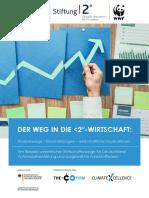 WWF 2018 Studie-Der Weg in Die Unter 2 Grad Wirtschaft