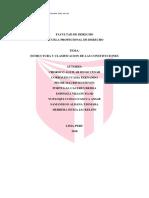 Estructura y Clasificacion de Las Constituciones
