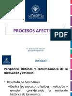 Clase 3 Procesos Afectivos 2018